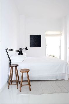 white/bedroom