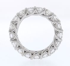 Eternity Band Side - love this Phillips Frankel band - especially the side view! Eternity Bands, True Beauty, Gems, Jewels, Engagement Rings, My Style, Diamond, Bracelets, Earrings