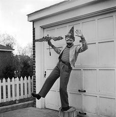 Christopher Walken As A Clown Child