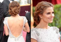 Get The Look: Maria Menounos' Grecian Goddess Braids at the Oscars!