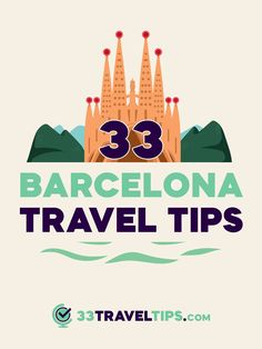 Going to Barcelona for the first time is a daunting task. These 33 top Barcelona travel tips will help you enjoy the Spanish capital and want to return again. Singapore Travel Tips, Paris Travel Tips, Solo Travel Tips, Japan Travel Tips, Alaska Travel, Packing Tips For Travel, Budget Travel, Travel Ideas, Travel Inspiration