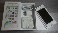 Apple iPhone 5s - 16GB - Gray/Silver/Gold (AT&T) Unlocked Smartphone New Unused & Undamaged Open Box Phone Production Information: Explore high-qualit... #unlocked #smartphone #gold #silver #iphone #gray #apple