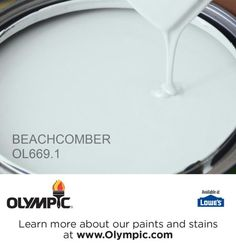 BEACHCOMBER OL669.1 is a part of the aquas collection by Olympic® Paint.