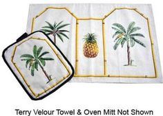 Bulk Buys Palm Tree Kitchen Linen Assorted Separates - Case of 144 Manufactured to the Highest Quality Available.. Design is stylish and innovative. Satisfaction Ensured.. Great Gift Idea..  #BulkBuys #Home