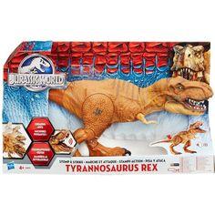 Juguete JURASSIC WORLD T-REX ELECTRONICO Precio 35,10€ en IguMagazine #juguetesbaratos