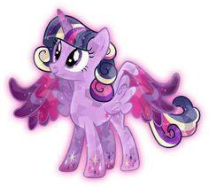 Rainbow Power: Crystal Princess Twilight Sparkle by TheShadowStone.deviantart.com on @deviantART
