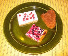 Puolukkapalojen, Sydämensurujen kakun ja marjapiirakan ohjeet