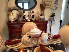 My Cozy Casita: Thanksgiving 2016 Thanksgiving 2016, Tablescapes, Table Settings, Cozy, Autumn, Fall Season, Table Scapes, Place Settings, Fall