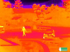 Flir Scout TK Thermal Night Vision Monocular Records Video Of Hidden Surroundings - Cloudy Nights, Night Vision Monocular, Thermal Imaging, Image Processing, Low Lights, First Night, Night Time, Explore, This Or That Questions