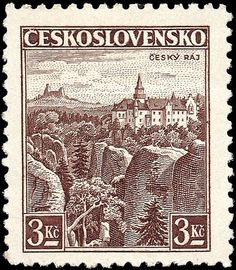Hi-res stamps from Czechoslovakia and Czech Republic. Old stamps, rare stamps and famous classic Czech stamps. Old Stamps, Rare Stamps, Vintage Stamps, Interesting Buildings, Stamp Collecting, Science And Nature, Vintage World Maps, Germany, Statue