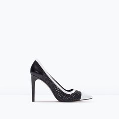 ZARA - SHOES & BAGS - BRAIDED TWO-TONE COURT SHOES