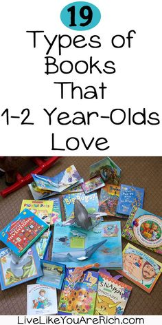 I've noticed that certain types of books are preferred more than others at different age ranges. Below you will find the types of books both of my children absolutely love to read or have loved to read between the ages of months. Gentle Parenting, Kids And Parenting, Parenting Hacks, Parenting Styles, Foster Parenting, Toddler Preschool, Toddler Activities, Preschool Alphabet, Preschool Literacy