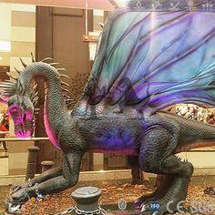 DRA003-Dragon Show Giant Shen-Lung Dragon Robot -Mcsdino-Fantasy And Mystery