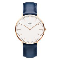 The Classic Somerset (40mm) in Rose Gold, limited edition, limited time. US exclusive by Daniel Wellington