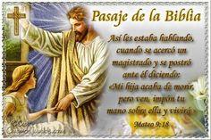 Vidas Santas: Santo Evangelio según san Mateo 9:18
