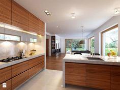 Ready-made house designs One Design, Modern Design, Gable Roof, Ground Floor, Kitchen Design, Kitchen Cabinets, Floor Plans, Flooring, Contemporary