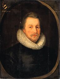 Sir Roger Wilbraham (1553 - 1616) was an English lawyer who served as Solicitor-General for Ireland in 1585 (for 14 years) under Queen Elizabeth I.  He also held positions in court under James I.  His father served as Master of the Jewel House to Mary I.  Dorfold Hall in Acton, Cheshire, UK was bought in 1602 by Sir Roger Wilbraham.
