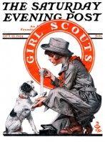Girl Scout (J.C. Leyendecker, October 25, 1924)