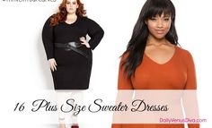 d3ba475b667 16 Plus Size Sweater Dresses That ll Keep The Chill Off This Fall Plus Size