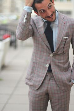 Lovely checkered look!