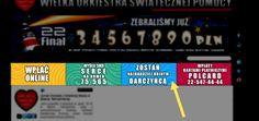 Wielka Orkiestra Świątecznej Pomocy nieustannie się rozwija i co roku wykorzystuje nowe możliwości i sposoby zbierania funduszy. Nie ogranicza się do kwest ulicznych, ale prężnie działa też w Internecie. Wyniki widać jak na dłoni: w tym roku wzrost wpłat za pośrednictwem strony internetowej Orkiestry był czterokrotny. Osoby odwiedzające witrynę przekazały na leczenie dzieci prawie milion złotych!