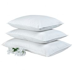 Prima Ultra Pillow Collection: We LOVE these pillows, but ours are pretty old now. White Pillows, Down Pillows, Great Father's Day Gifts, Sassy Pants, Best Pillow, Duvet, Bedding, Mother And Father, Fathers Day Gifts