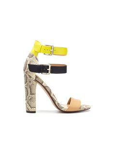 Zara high heels sandals with buckles. Is there anything else that screams summer?