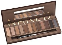 The famous Naked Palette from Urban Decay...a must have for a neutral smokey eye