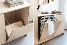 DIY: l'ultime armoire à linge Laundry Cabinets, Diy Cabinets, Cheap Home Decor, Luxury Home Decor, Armoires Diy, Laundry Room Inspiration, Laundry Room Design, Diy Interior, Interior Design