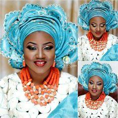 Stunning bride in her 2nd traditional look.  MUA @touchofglammakeover  #bride #weddings #nigerianweddings #idonigeria