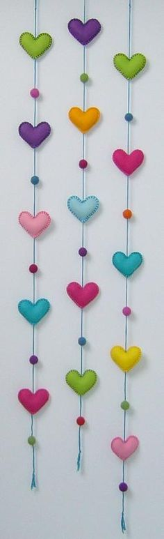 Heart garland                                                                                                                                                                                 Más