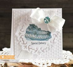 Created by Laurie Schmidlin featuring the Little Darlings stamp set from Waltzingmouse Stamps