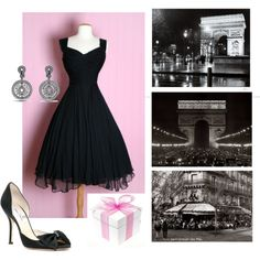 Sanja's Birthday party in Paris, created by isidora on Polyvore