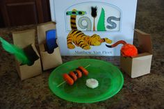 August Baby Toddler Book Club Meeting activity and snack based on Tails by Matthew Van Fleet