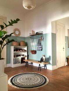 Toller Eingangsbereich mit wunderschöner Wandgestaltung