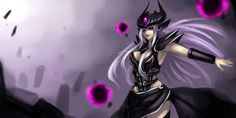 Tags: Anime, Aleron, League of Legends, Syndra, Curves, 2:1 Ratio