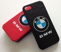 Case for iphone 5  5s BMW Leather Hard Back Style Cover Bmw Logo ff1a68b44