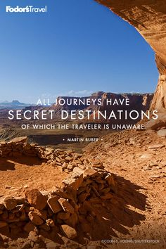 Secret destinations are sometimes the best destinations.