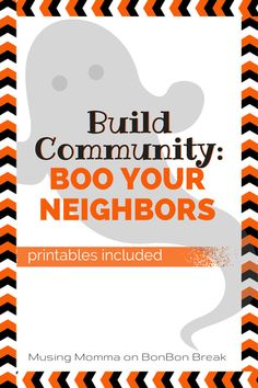 Looking for a fun, easy way to celebrate Halloween in your neighborhood? Try boo'ing your neighbors! It's easy - here is how to do it.