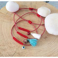 Evil Eye Jewelry, Evil Eye Bracelet, Tassel Bracelet, Bracelets, Beaded Jewelry, Beaded Necklace, Greek Evil Eye, New Years Eve Decorations, Greek Jewelry