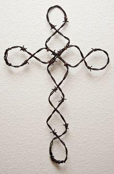 Wire art diy cross ideas for 2019