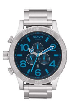 Nixon Nixon 'The 51-30' Chronograph Bracelet Watch, 51mm available at #Nordstrom