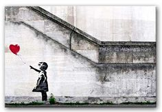 Details about Banksy - Graffiti Balloon Girl Canvas .- Details about Banksy – Graffiti Balloon Girl Canvas Print Banksy – Graffiti Balloon Girl - Banksy Graffiti, Graffiti Artwork, Graffiti Tattoo, Bansky, Street Graffiti, Famous Graffiti Artists, Street Artists, Balloon Girl Banksy, Emphasis In Art