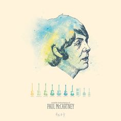 Paul McCartney / cool band poster