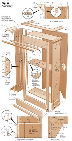 Cottage Bookcase - Woodworking Projects - American Woodworker