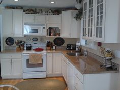Another pic of my small but charming kitchen