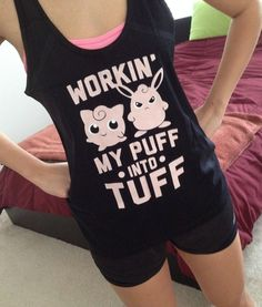 i'm not one for work out tanks but this is adorable. need this to continue living.