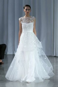 Monique Lhuillier Fall 2013 Madeline gown