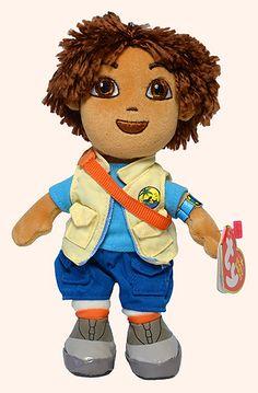 Diego - Boy - Ty Beanie Babies