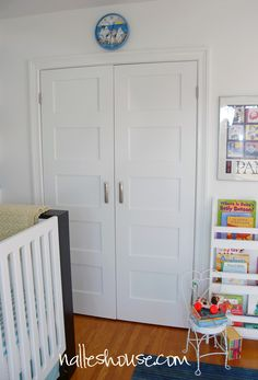 Nalleu0027s House: Nursery Update Closet Doors